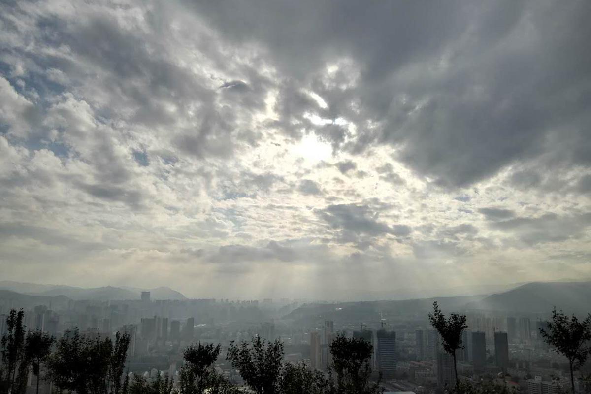 兰州光芒。摄影:宋燕函