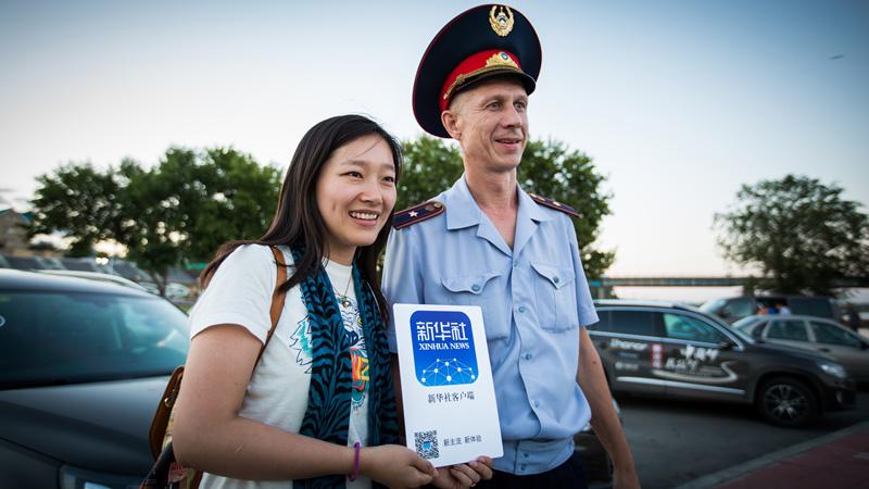 新华社新闻客户端,在库斯塔奈。摄影:孟菁