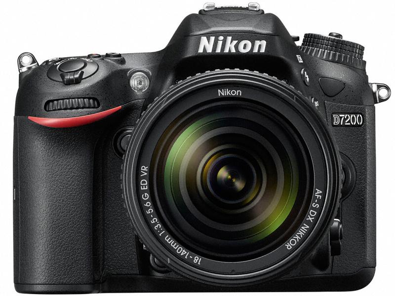 尼康发布数码单反相机 D7200