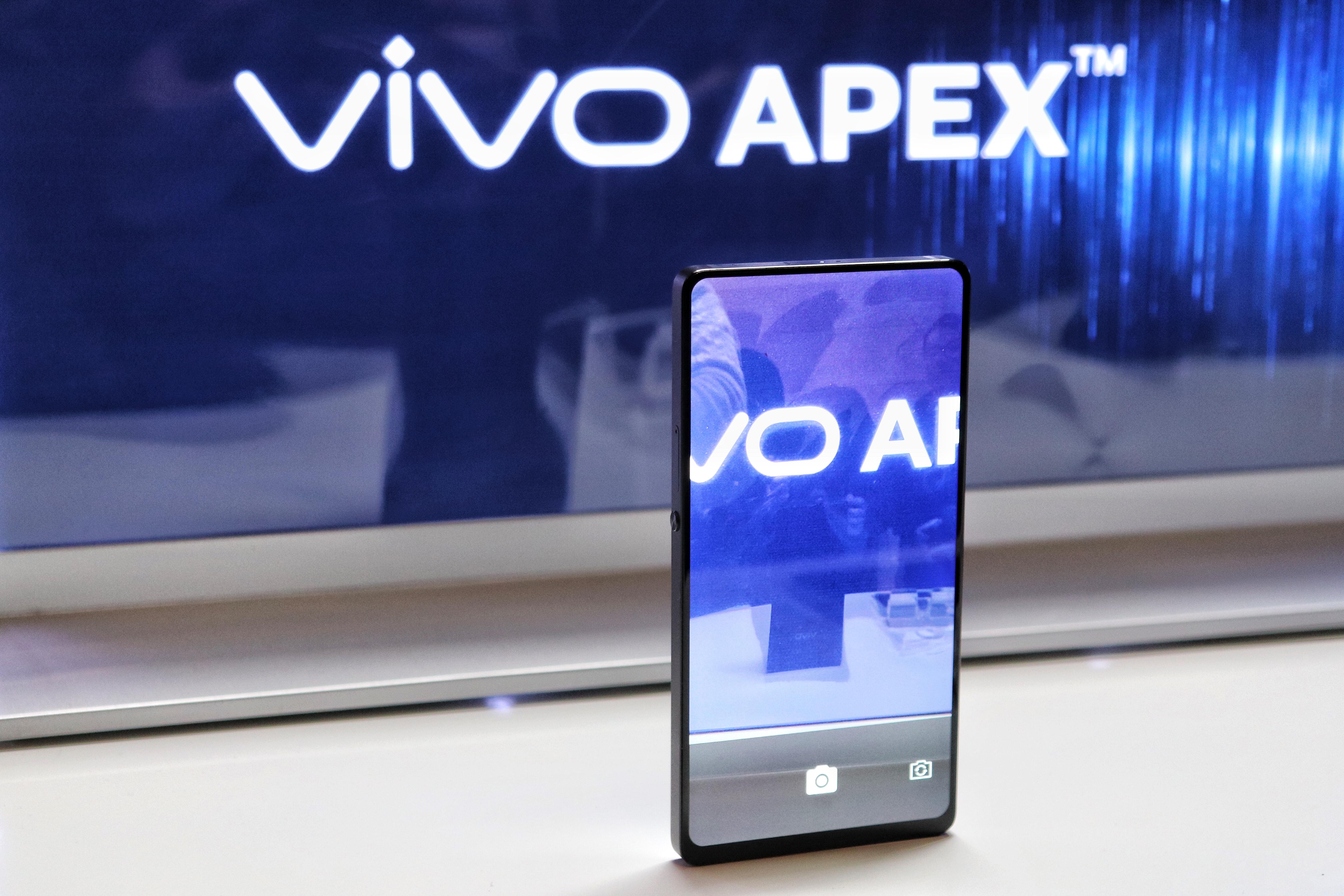 技术突围!vivo 推出 APEX 全面屏概念机和超级 HDR 影像技术