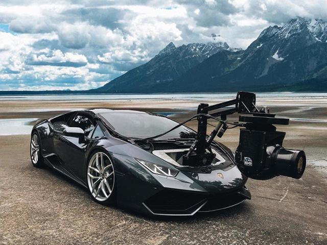 相机与跑车的结合:世界最快的地面移动拍摄系统