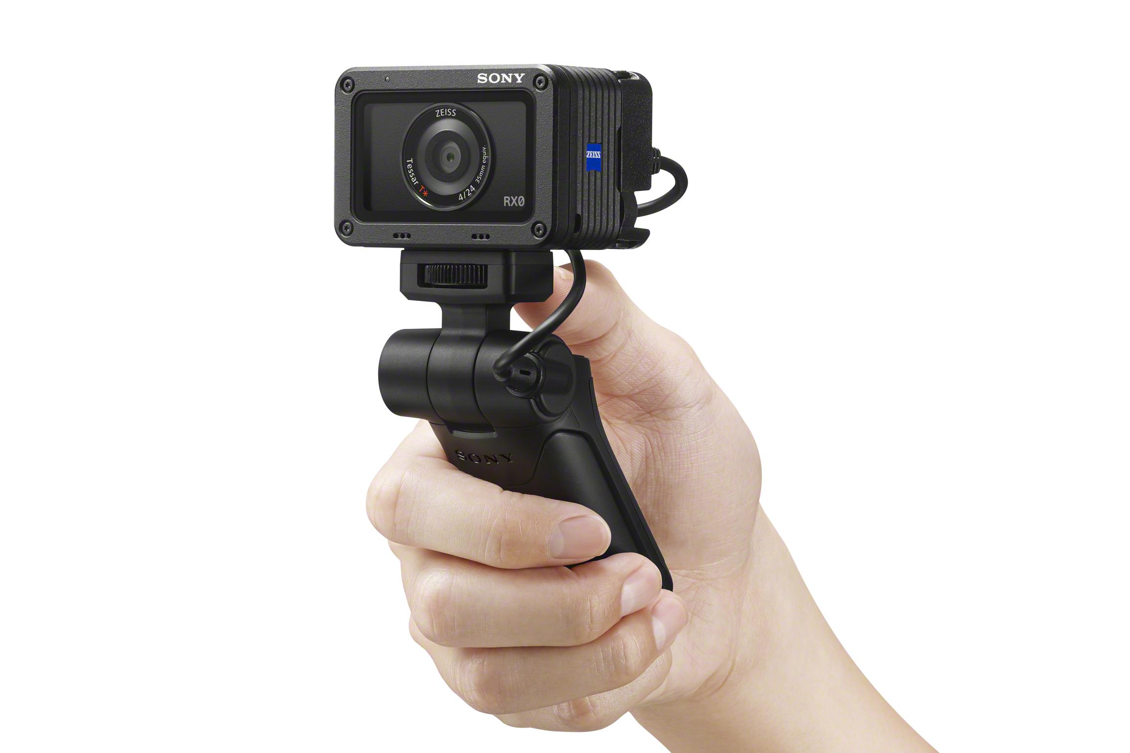 索尼发布黑卡® RX100 和 RX0 系列多功能拍摄手柄 VCT-SGR1