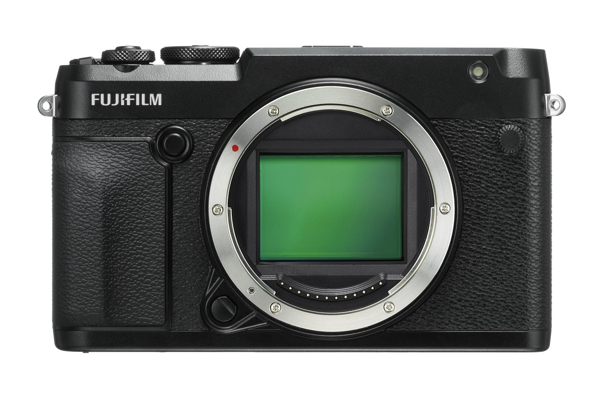 旁轴造型中画幅数码相机富士 GFX 50R 正式发布