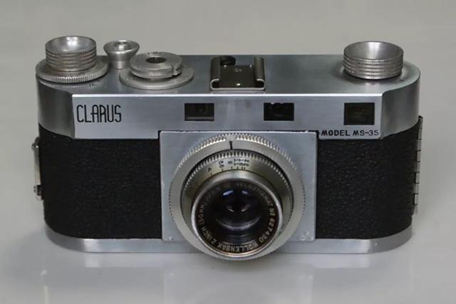 """【经典相机】""""美国战车""""Clarus MS-35"""