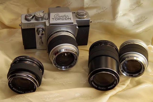 【经典相机】美国海军版 Topcon Super D