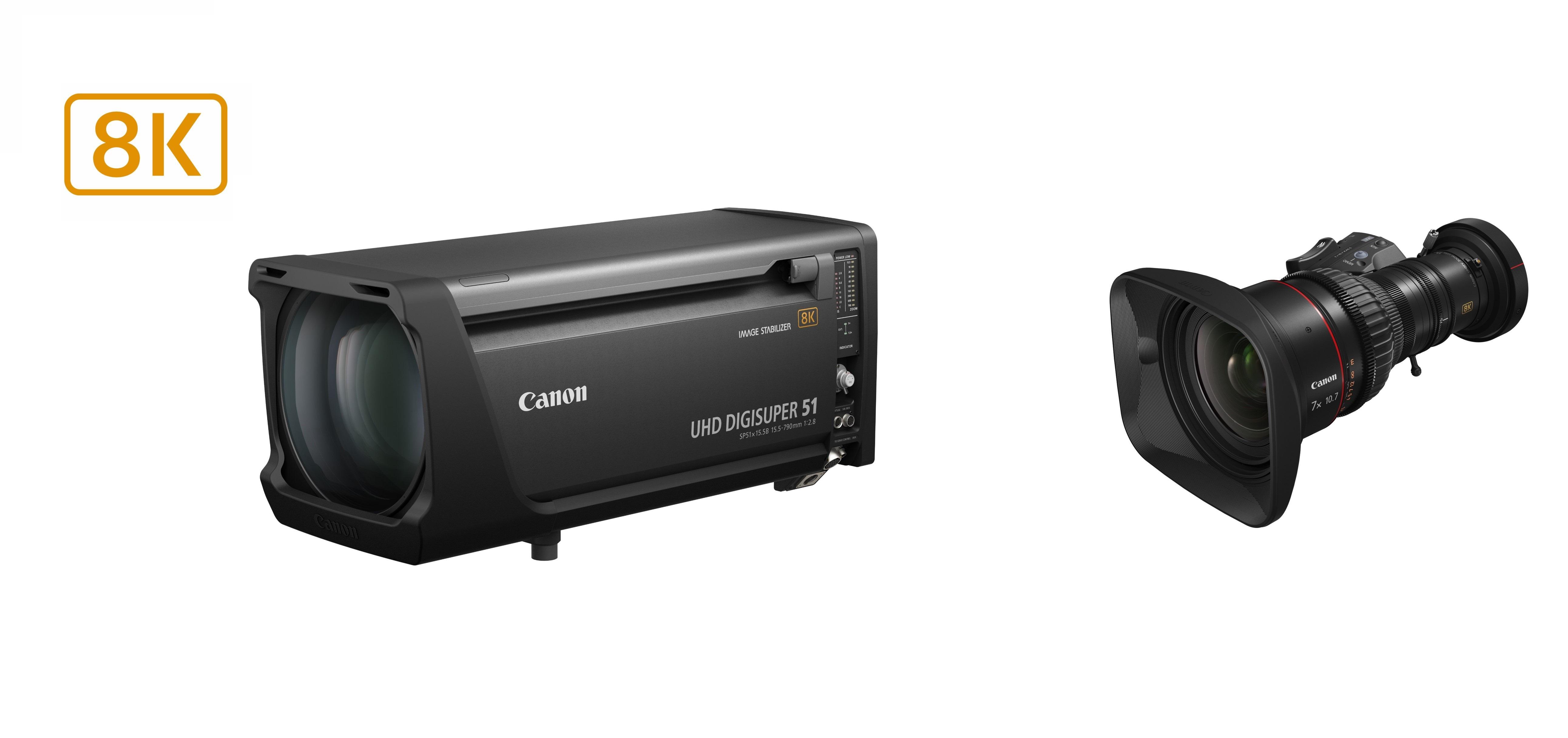 佳能宣布发售首批 8K 广播级变焦镜头