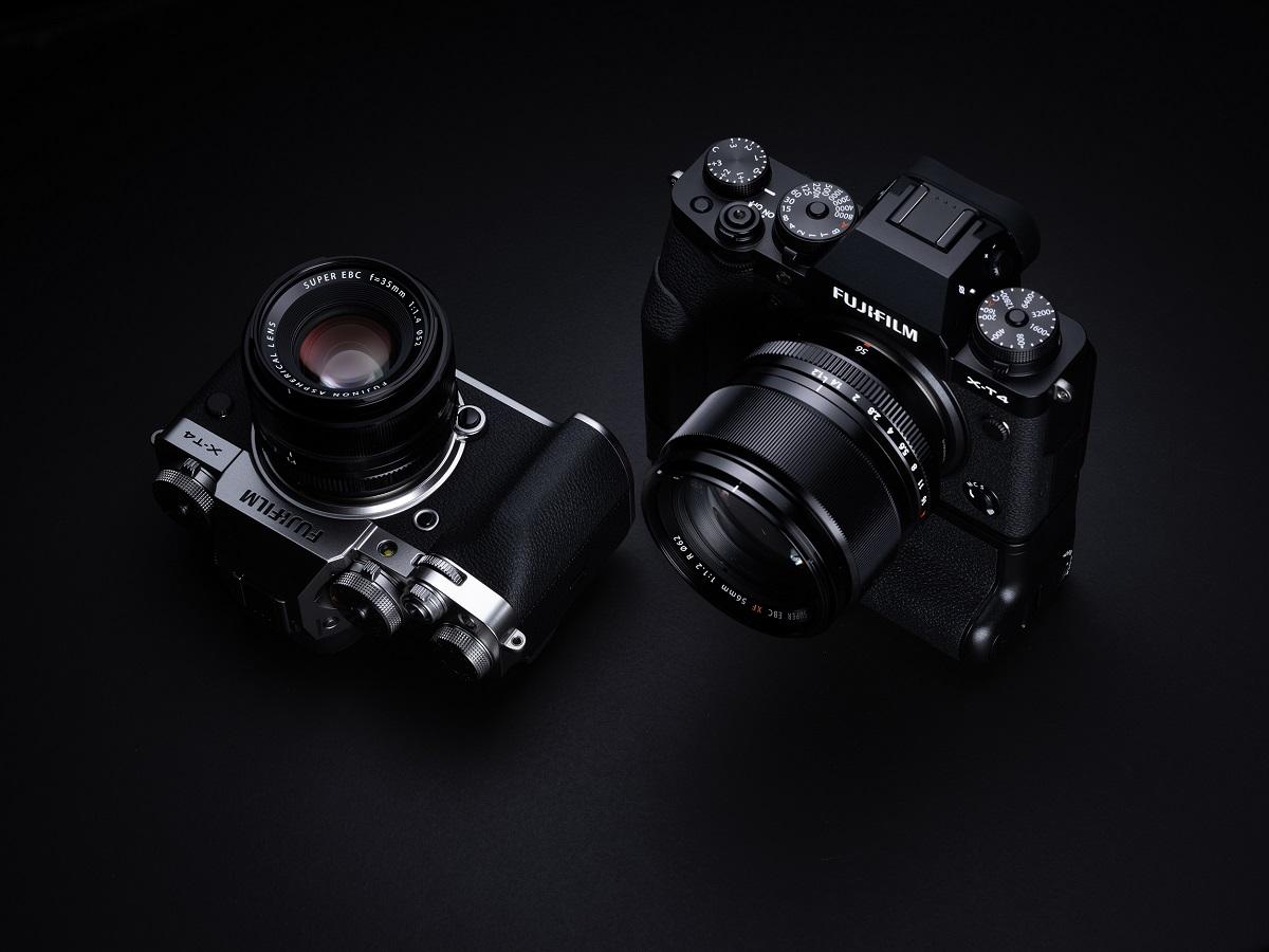 新旗舰款无反相机 富士正式推出 FUJIFILM X-T4