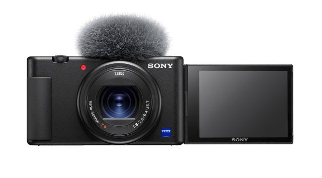 Vlog 小新机 索尼发布 Vlog 相机 ZV-1