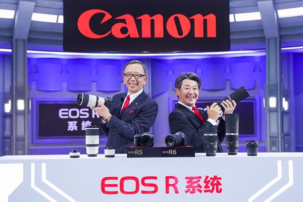 所以,超越!佳能发布新一代全画幅专微旗舰相机 EOS R5
