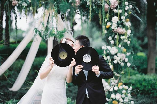 爱了!我也想要一张这样的婚礼照!
