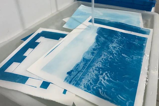 【古典工艺】颜值超高!简单易上手的蓝晒法印相