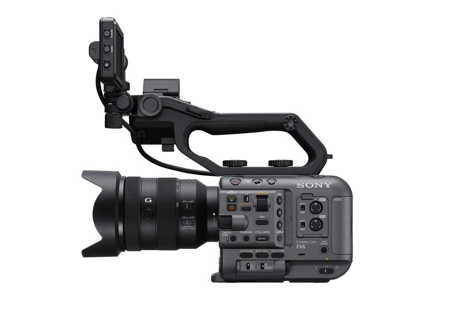 索尼推出 Cinema Line 数字电影摄影机系统 新品 FX6 摄影机将于年底发售