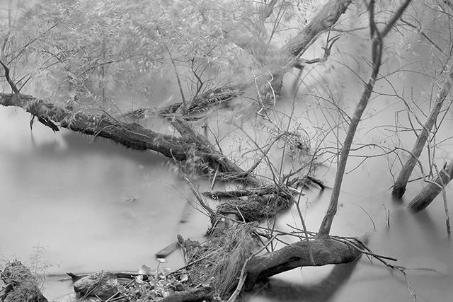 山水之间,他拍下了这片静谧的黑白世界