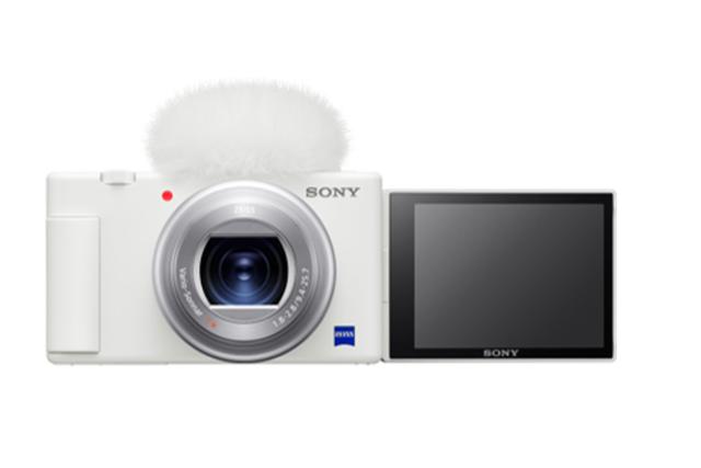 索尼 Vlog 相机 ZV-1 上新色,白色版时尚机身发布