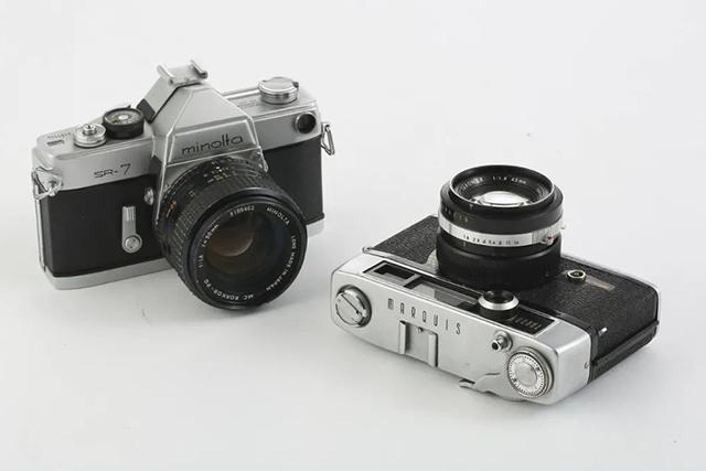 【经典相机】内置 Cds 测光的第一台旁轴相机与第一台单反相机