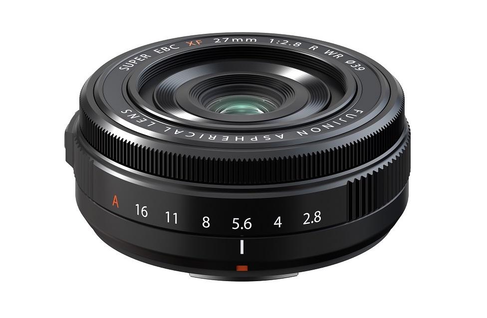 富士胶片发布全新富士龙 XF27mmF2.8 R WR 镜头