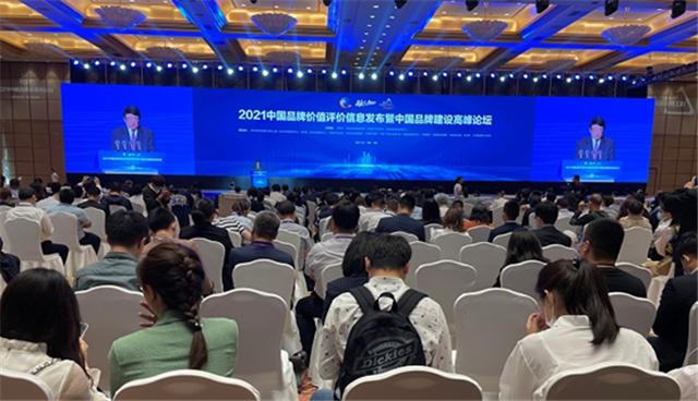 中国地级市品牌百强在 2021 中国品牌日系列活动上发布