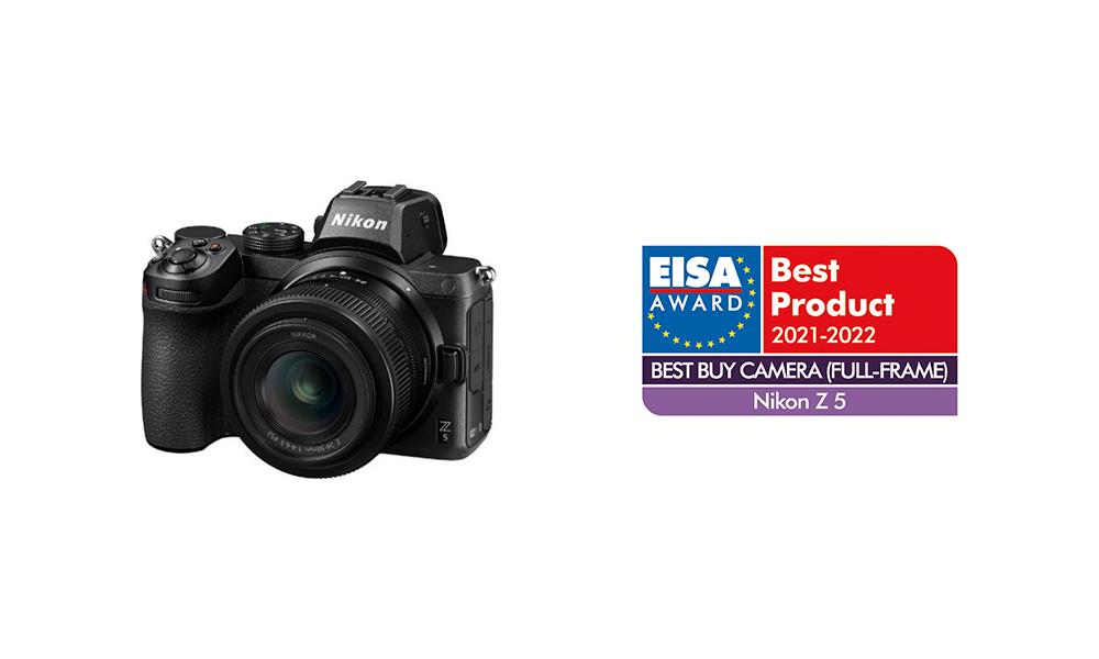 尼康 Z 6Ⅱ 微单数码相机等四款尼康产品荣获 2021-2022 欧洲影音协会(EISA)大奖
